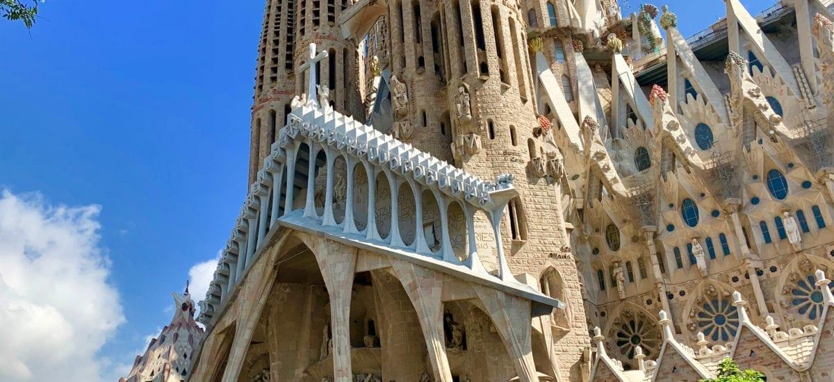 La Basilica de la Sagrada Familia – Barcelona