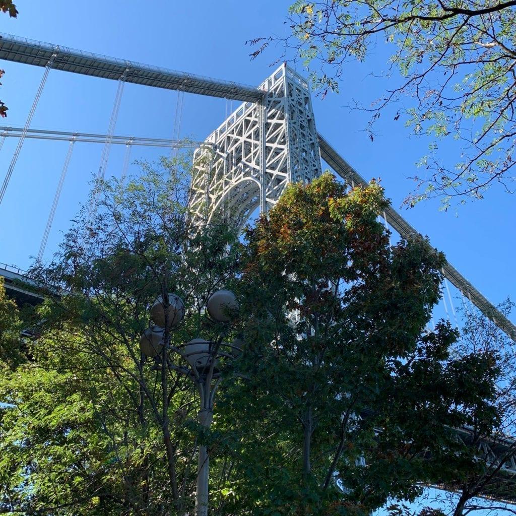 George Washington Bridge - Little Red Lighthouse
