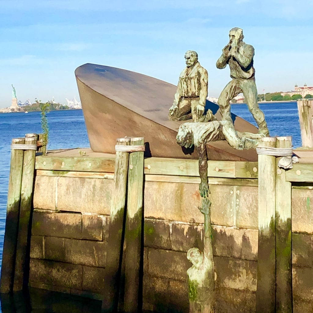 Merchant Mariners memorial - Battery Park - Veterans Day Memorials