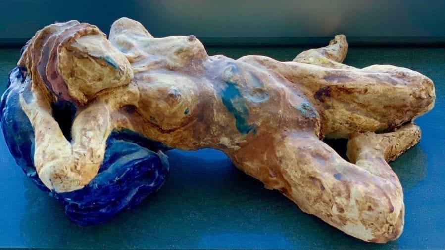 Michelle Albala - Sleeping Beauty - Clay Glaze sculpture