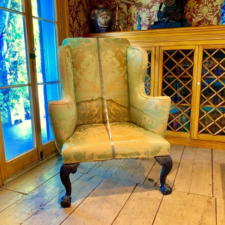 Alice austen house - chair rented from the metropolitan museum of art
