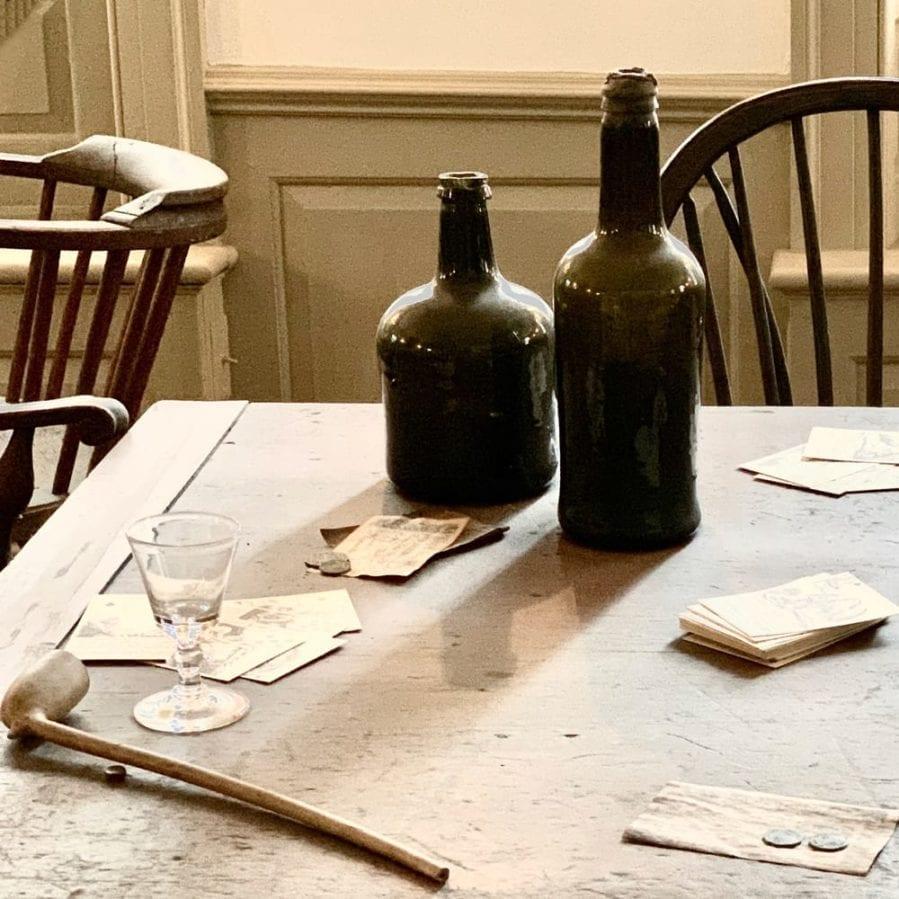 Fraunces Tavern museum dining room long room