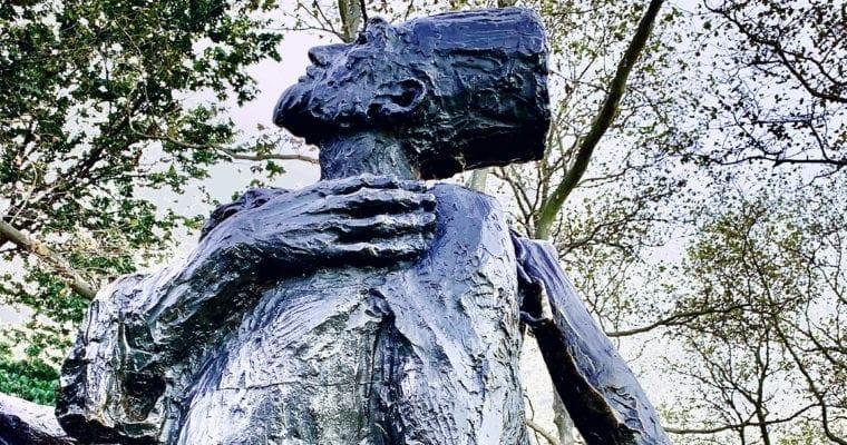 The Immigrants Sculpture – Luis Sanguino
