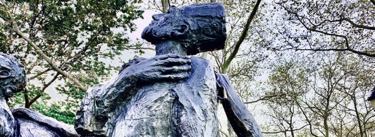 The Immigrants - Bronze Battery Park - Public Art
