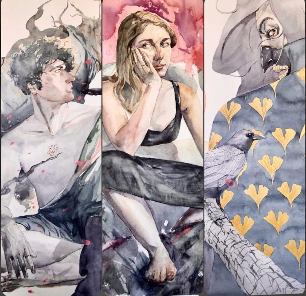 Watercolor by Antonio
