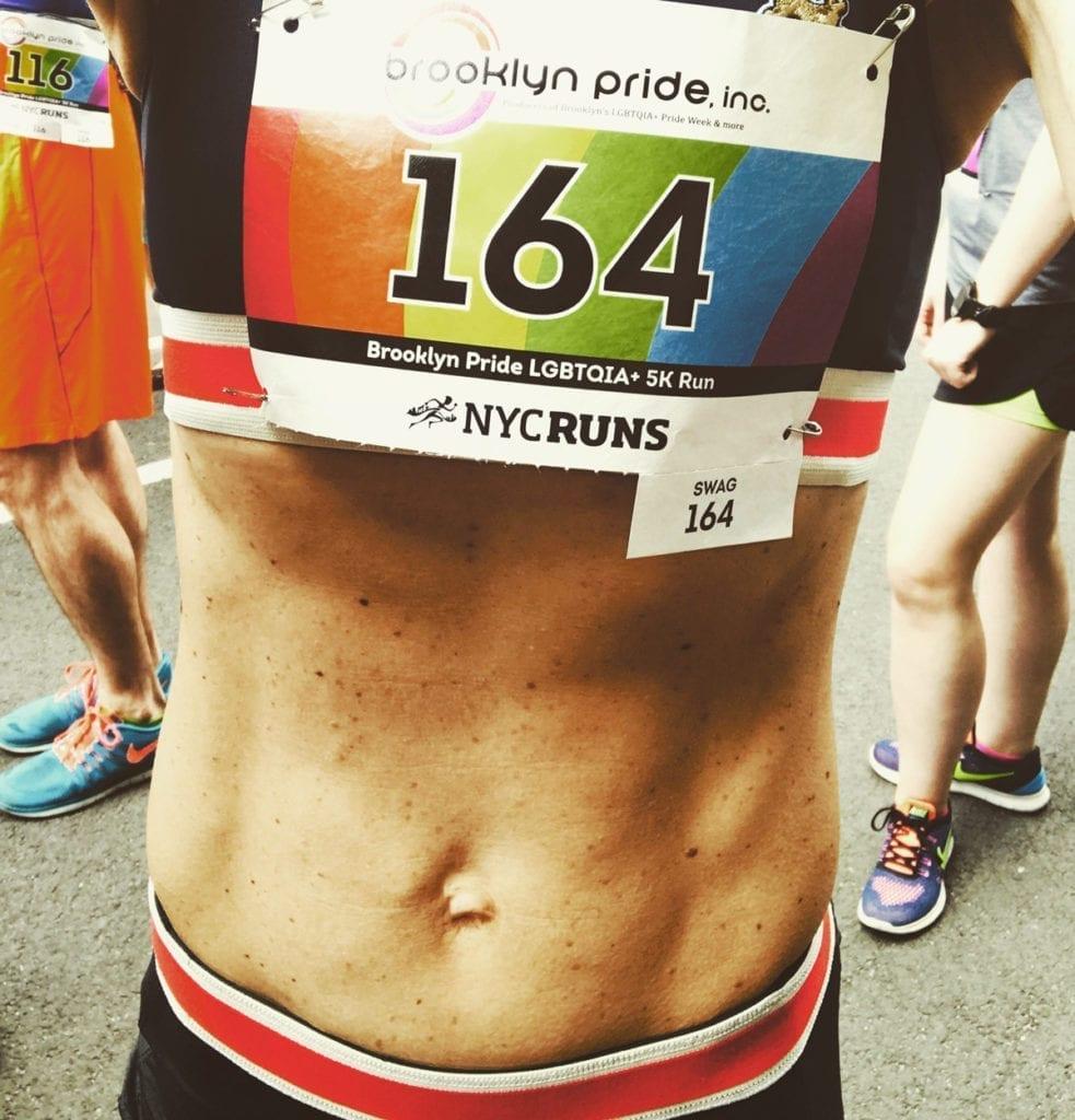 LadyKflo winning racing - running works