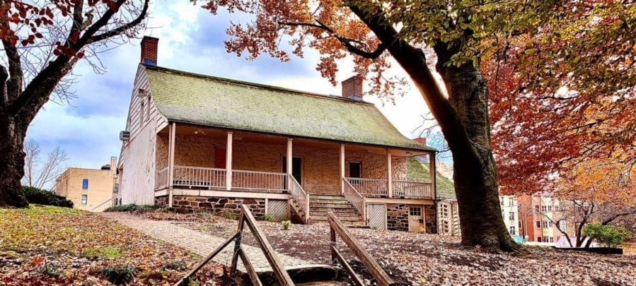 Hessian hut cherry trees dyckman family