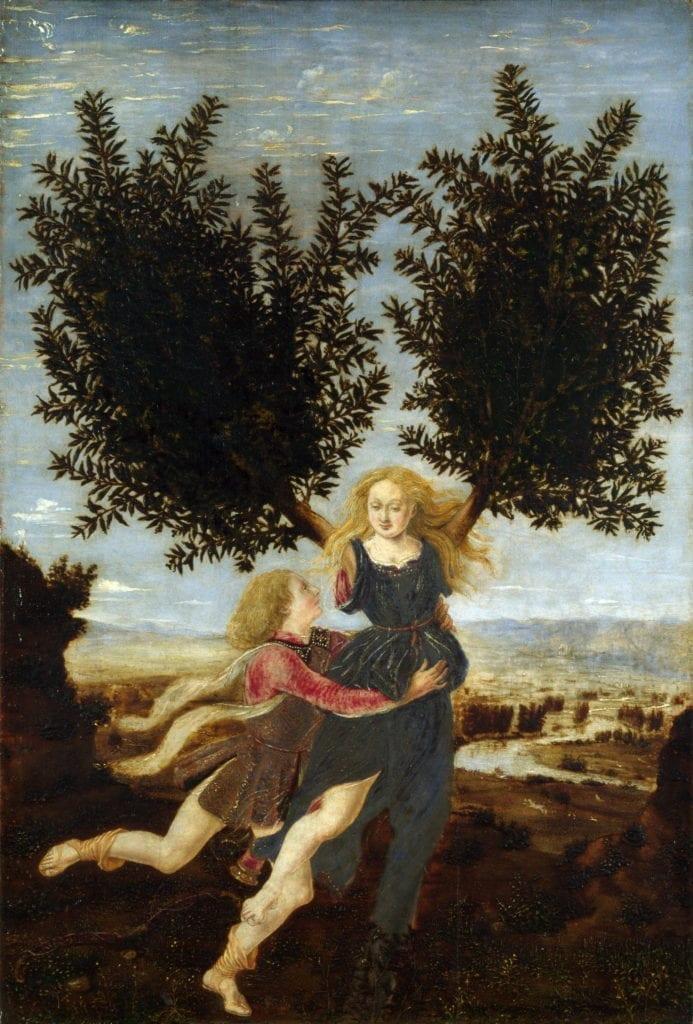 Antonio Pollaiuolo - Apollo and Daphne
