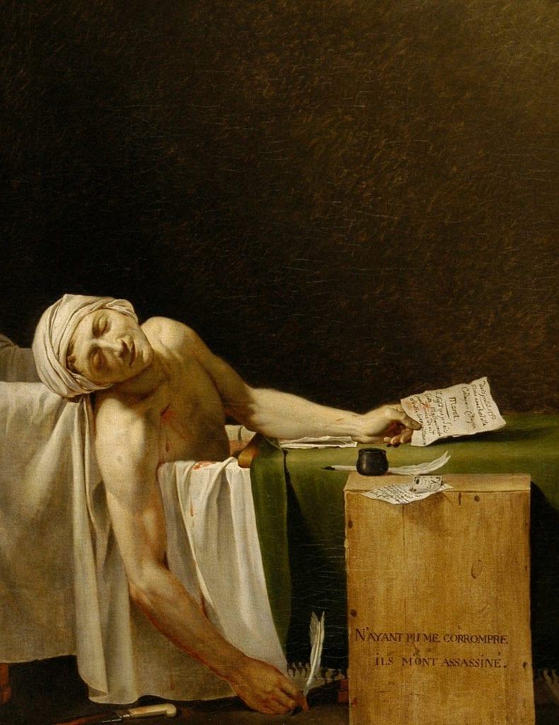 Death of Marat French Revolution