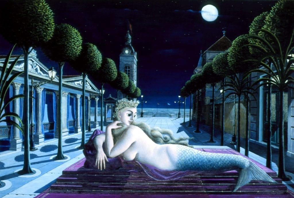 Fernand Leger - Siren in Full Moonlight 1940