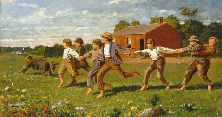 Snap the Whip – Winslow Homer