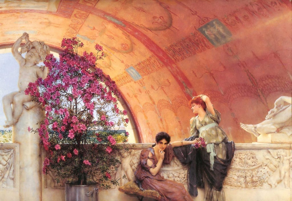 Unconscious Rivals - Sir Lawrence Alma-Tadema