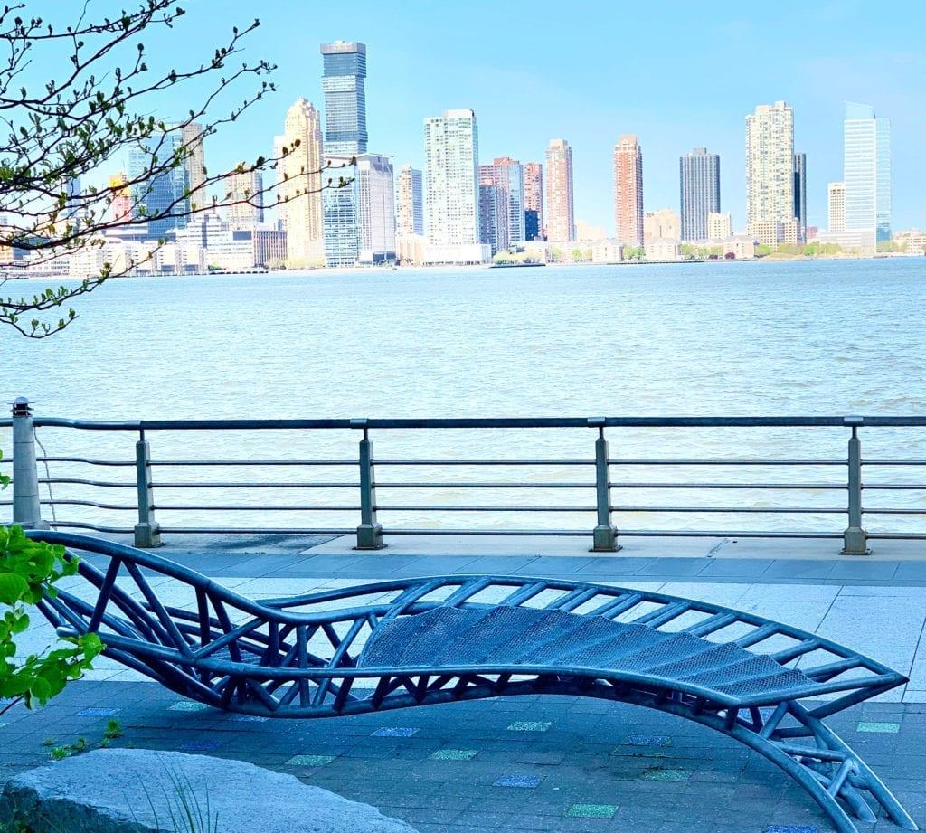 Torque - Serpentine Sculptures - Marc Gibian - Hudson River Park Esplanade