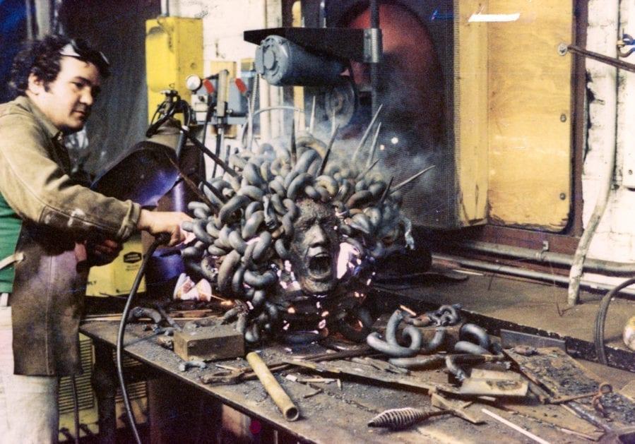 Michael Malpass - Screaming Medusa Sculpture