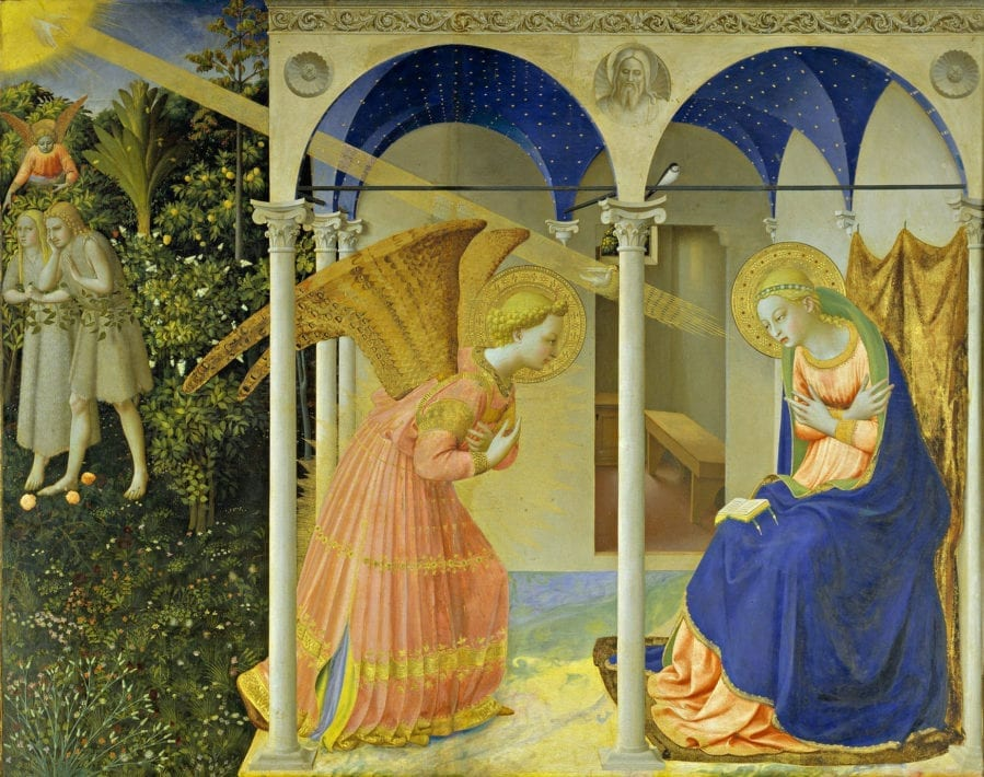 The-Annuniciation-by-Fra-Angelico