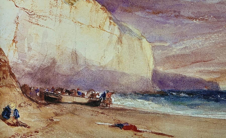 The Undercliff Watercolor 1828