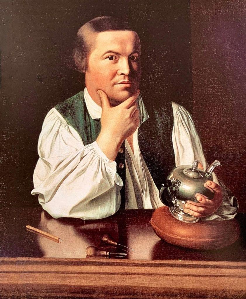 Paul-Revere by John Singleton Copley