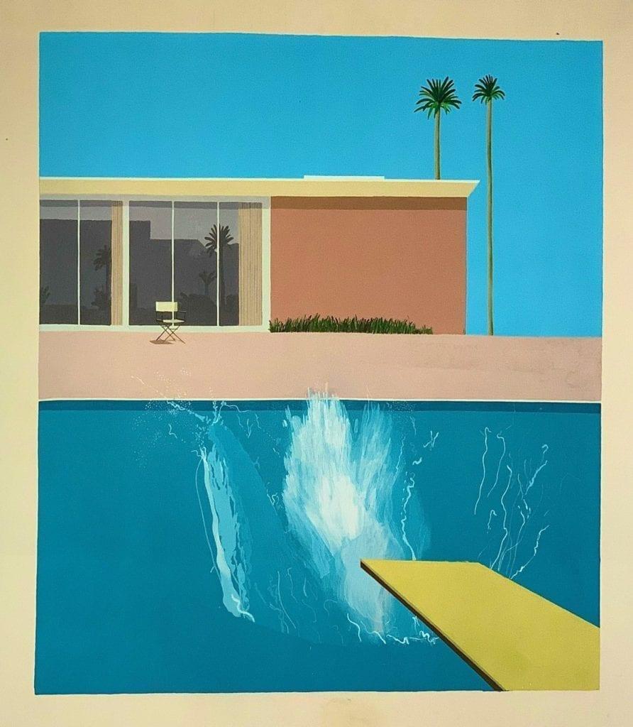 A-Bigger-Splash by David Hockney