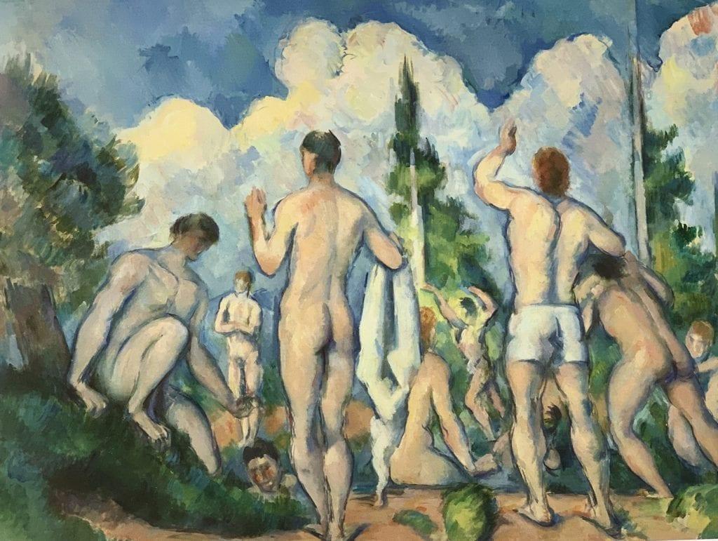 The Bathers - Paul Cézanne