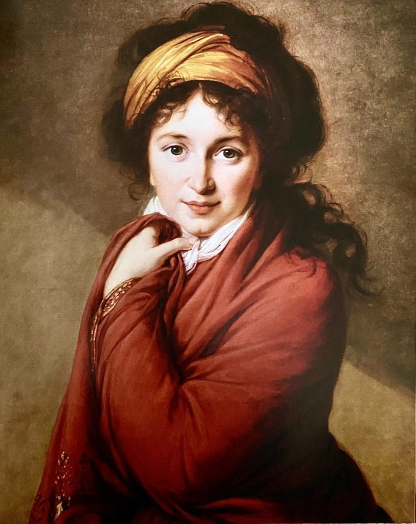 Portrait of Countess Golovina by Élisabeth Louise Vigée Le Brun