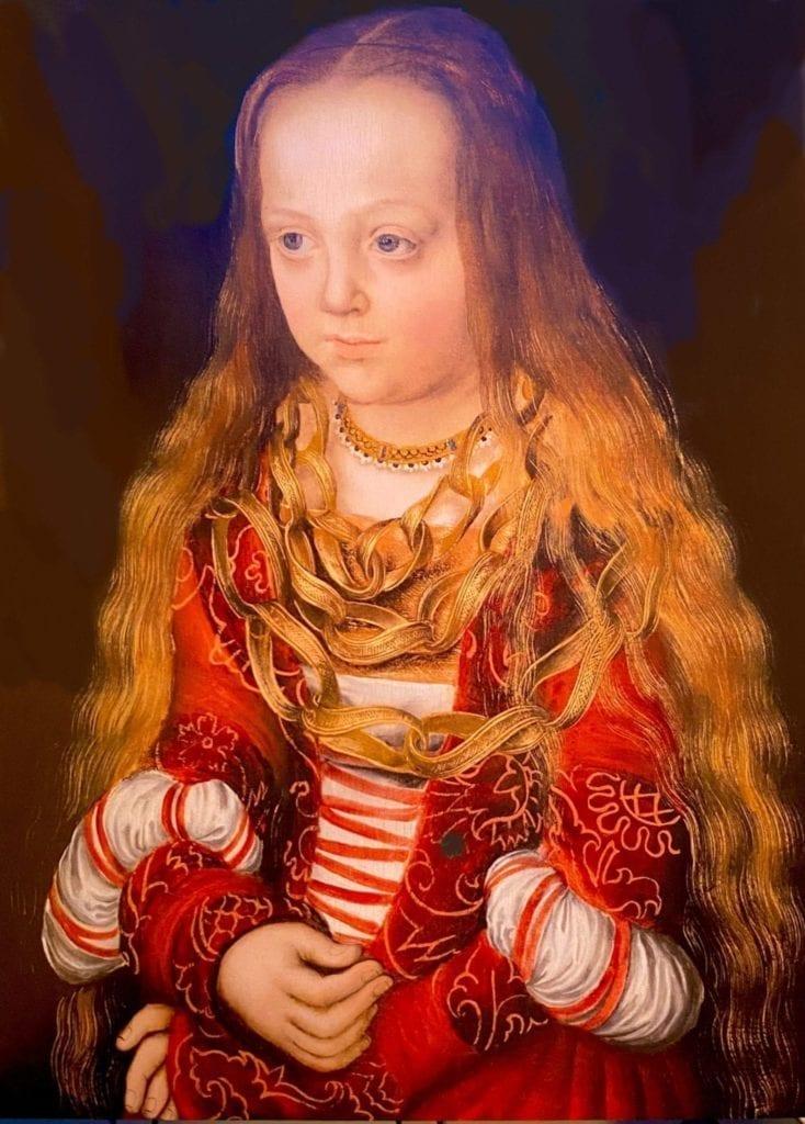Princess of Saxony - Saxon Princess - Lucas Cranach the Elder - 1517