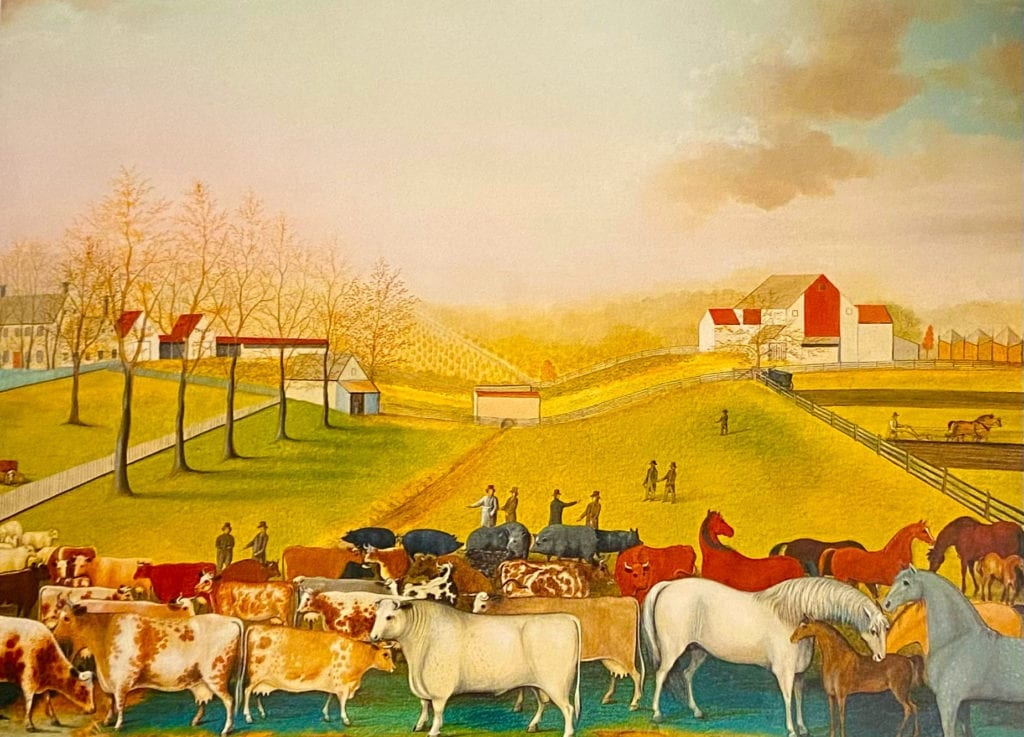 The Cornell Farm - Edward Hicks