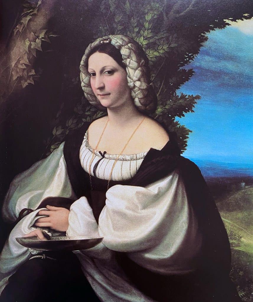 Portrait of a Lady by Antonio Allegri da Correggio
