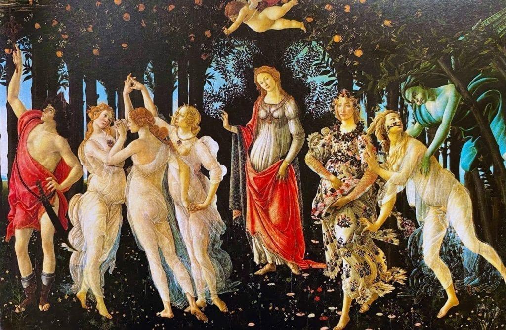 Primavera - Spring - by sandro - botticelli