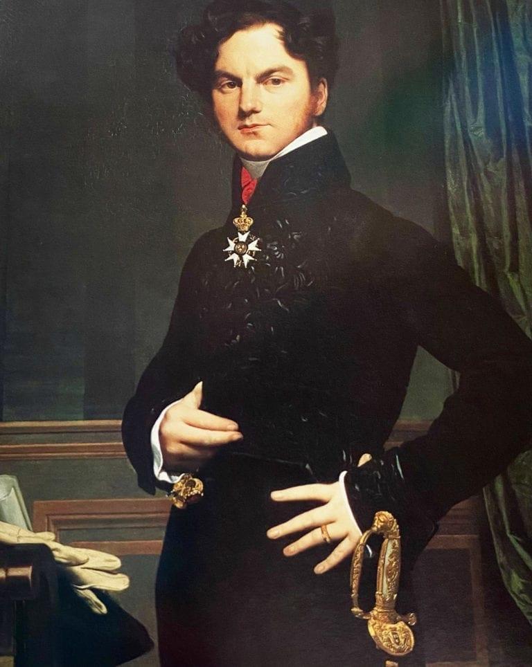 Amedee-David-Marquis--de-Pastoret by Jacques Louis David
