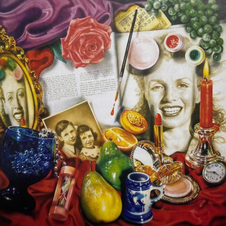 Marilyn (Vanitas) by Audrey Flack