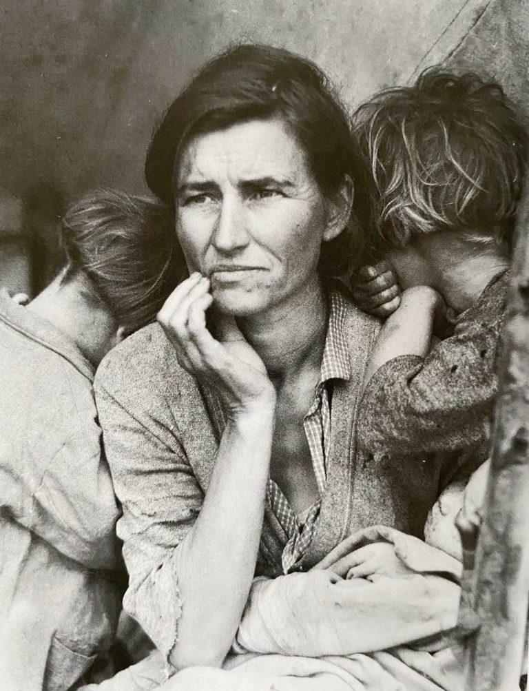 Migrant-Mother, Nipomo Valley, Dorothea Lange