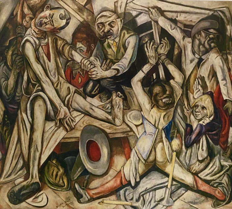 The Night-by-max-beckmann