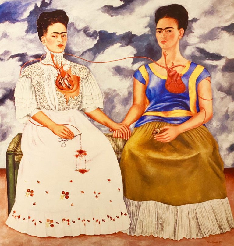 The-Two-Fridas by Frida Kahlo