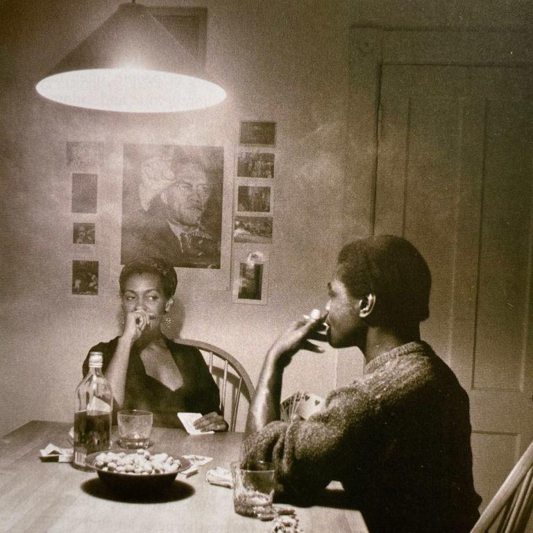 Man Smoking/Malcolm X - Carrie Mae Weems